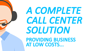 Give new definition to your business by the best call center solution.