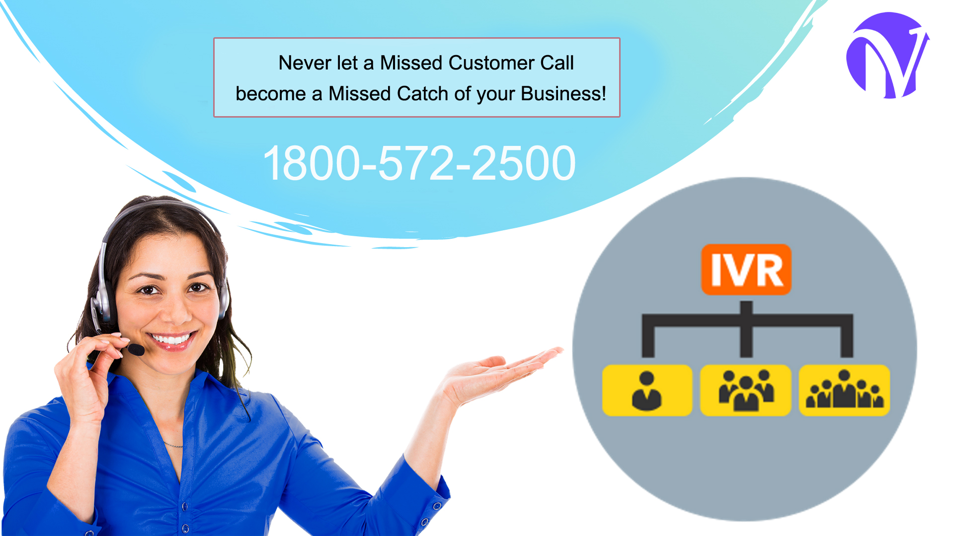 Never let a Missed customer call, become a Missed Catch of your business!