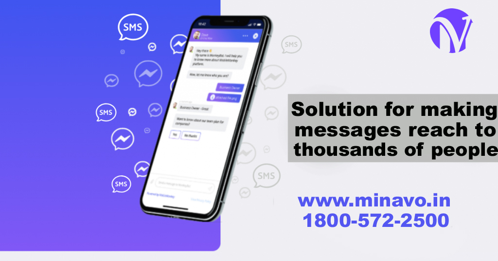 What is the solution for making messages reach to thousands of people?